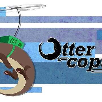 Ottercopter Banner (Blue) by CaliberSH