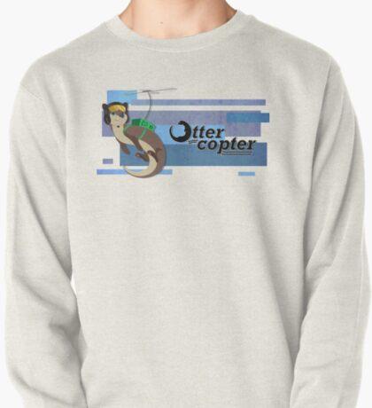 Ottercopter Banner (Blue) T-Shirt