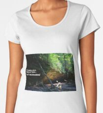 Let's Go Exploring Women's Premium T-Shirt