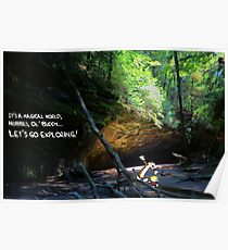 Let's Go Exploring Poster