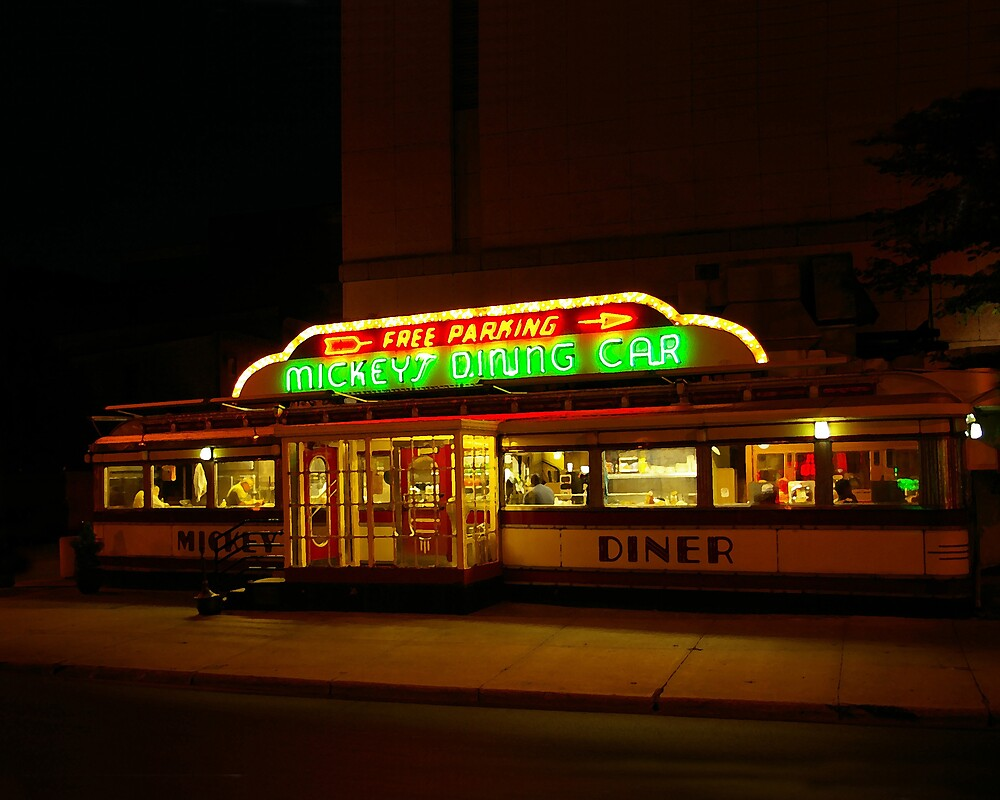 Mickey's Diner by Tom  Reynen