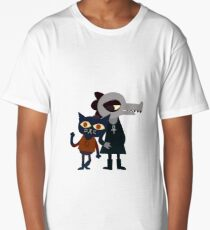 Mae And Bea Night in the Woods Long T-Shirt