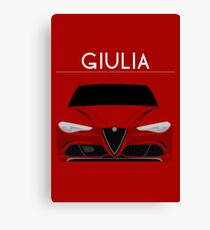 Red Italian Stallion Canvas Print