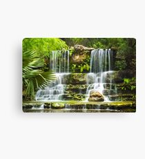 Waterfall Tranquility IV Canvas Print