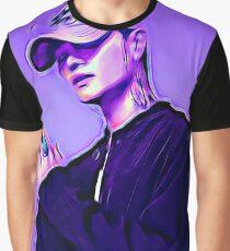Purple Dean Graphic T-Shirt