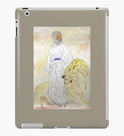Daniel and the Lions iPad Case/Skin