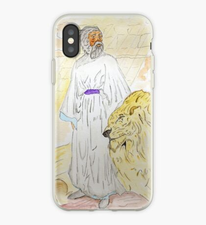 Daniel and the Lions iPhone Case