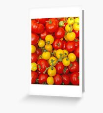 More Tomatoes Greeting Card