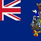South Georgia and the South Sandwich Islands Flag Products by Mark Podger