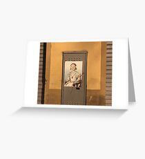 Florence Lady with Goggles Greeting Card