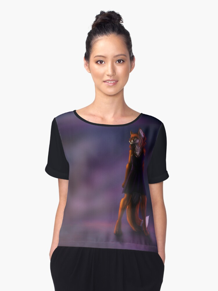 Standing Tall Women's Chiffon Top Front