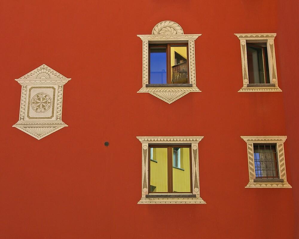 San Moritz Windows by Tom  Reynen