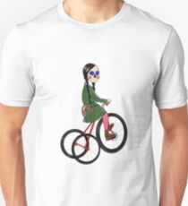 Tripping of My Cherry Red Tricycle Unisex T-Shirt
