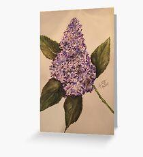 purplelilac Greeting Card
