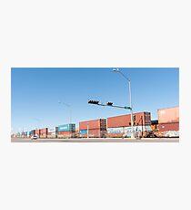 Cargo train Photographic Print