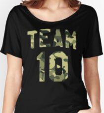 Camo Jake Paul Team 10 Women's Relaxed Fit T-Shirt