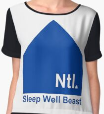 The National - Sleep Well Beast Women's Chiffon Top