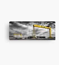 Belfast Shipyard 2 Canvas Print