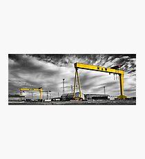 Belfast Shipyard 2 Photographic Print