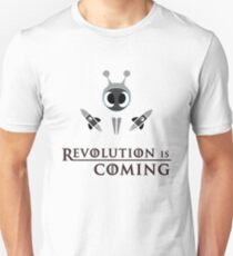Revolution Is Coming With Antshares ANS To The Moon T-Shirt