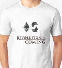 Revolution Is Coming With Solidity Ethereum Ether T-Shirt T-Shirt
