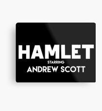 Hamlet - Andrew white Metal Print