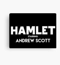 Hamlet - Andrew white Canvas Print