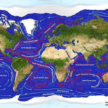 Ocean Currents by fotokatt
