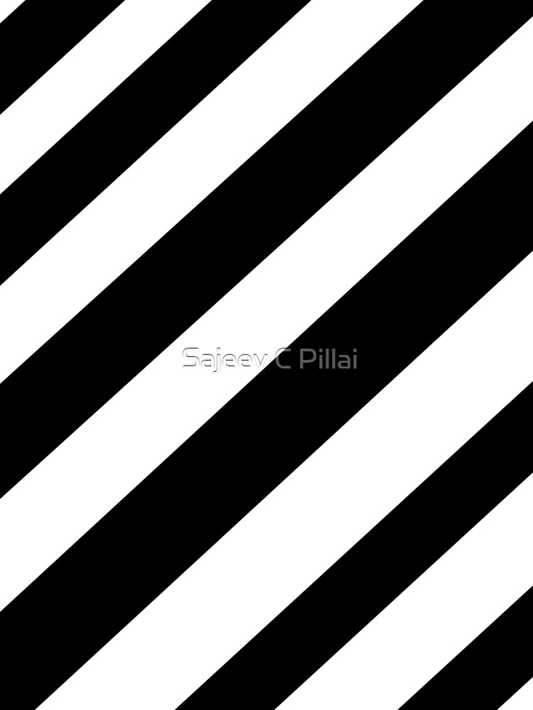 Black and white stripes by sajeevcpillai