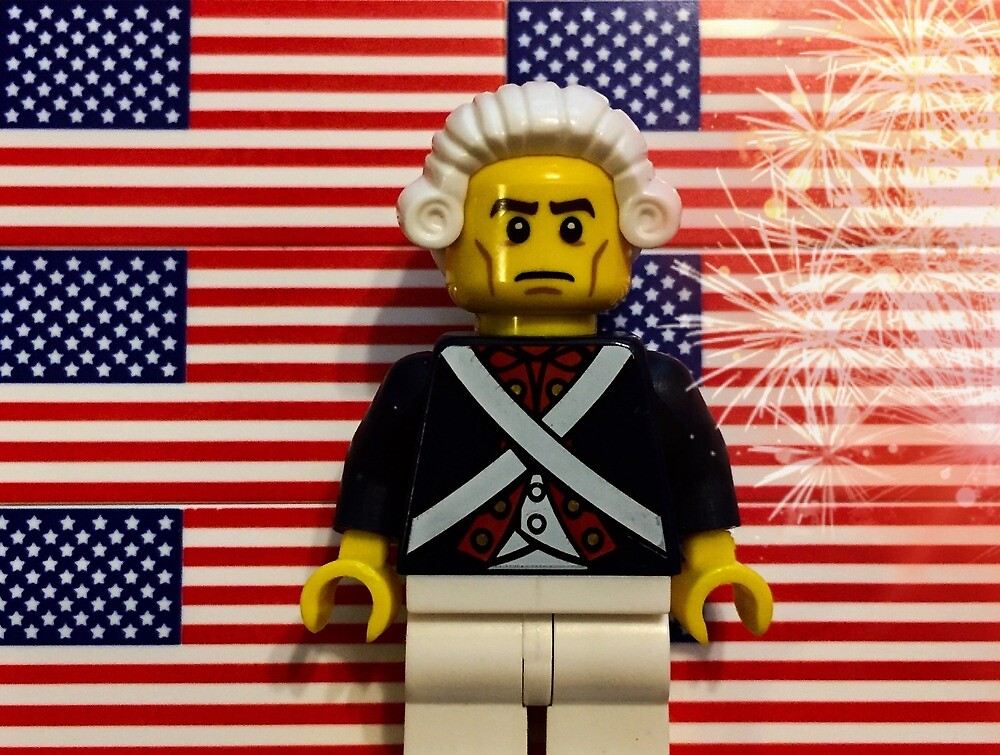Brickography Pictures - Patriotic by Phantomdrummer