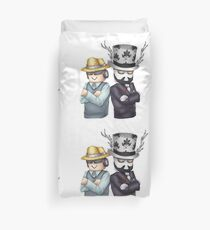 Badcc and Asimo Duvet Cover