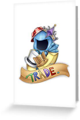 Trade logo greeting cards by evilartist redbubble trade logo by evilartist m4hsunfo