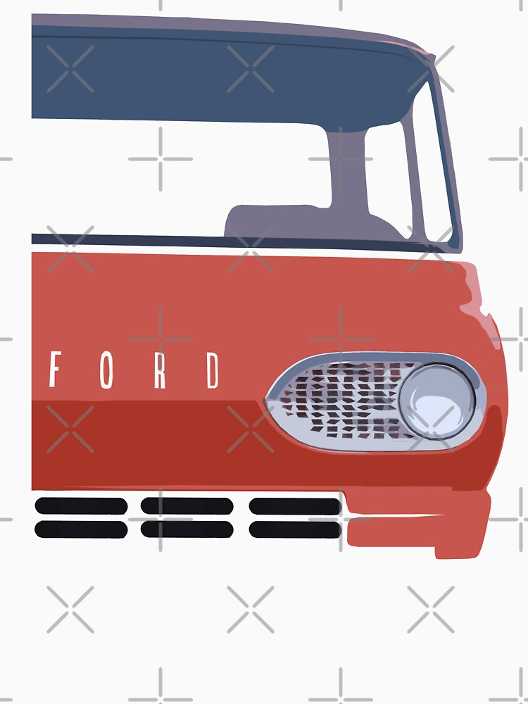 Ford Econoline - stylized by mal-photography