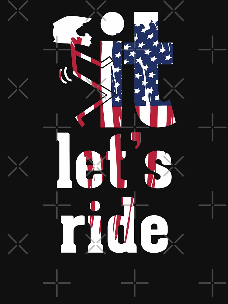Lets Ride Dirt Bike Humor by lolotees