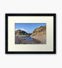 Little River At Branscombe Framed Print