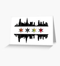 Team Chicago Greeting Card