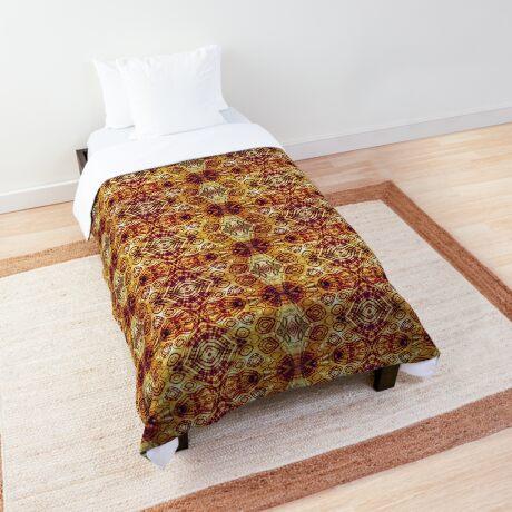 Zen I Am Sacral Flow  Comforter