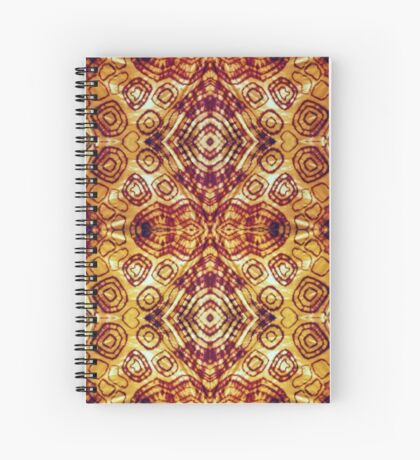 Zen I Am Sacral Flow  Spiral Notebook