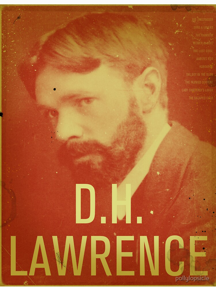 DH Lawrence by pollylopsicle
