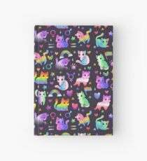 Pride Cats Hardcover Journal