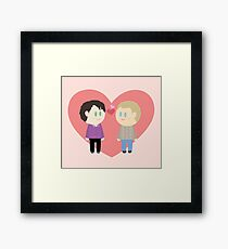 221B Cuties Framed Print