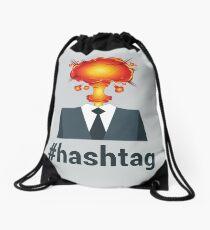 #HASHTAG Drawstring Bag