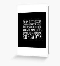 Roegadyn Greeting Card