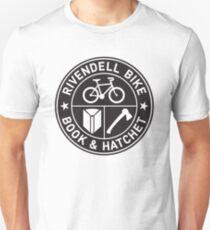 Rivendell Bike Book Hatchet Unisex T-Shirt
