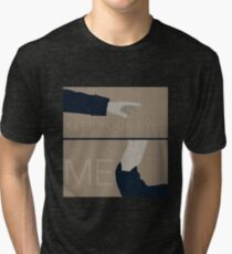 Keep Your Eyes Fixed On Me Tri-blend T-Shirt