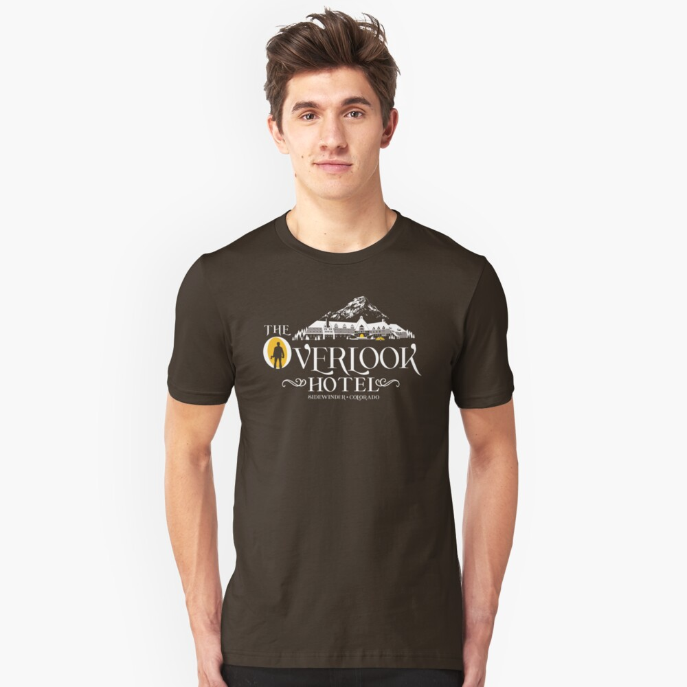 The Shining - Overlook Hotel Yellow lights Unisex T-Shirt Front