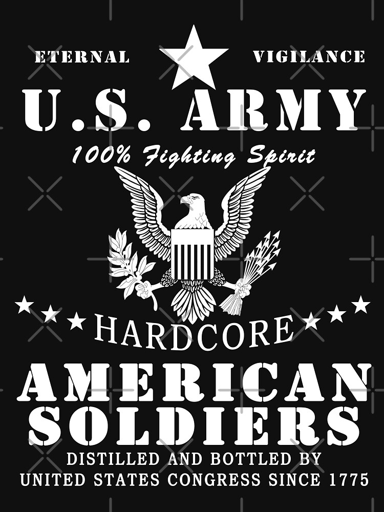 United States Army Hardcore American Soldier by ThreadsNouveau