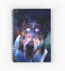 Galaxy Eyes Spiral Notebook