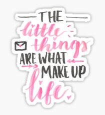 Little Things - To All The Boys I've Loved Before Sticker