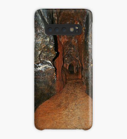 Feenhafte Höhle in Buchan Hülle & Klebefolie für Samsung Galaxy